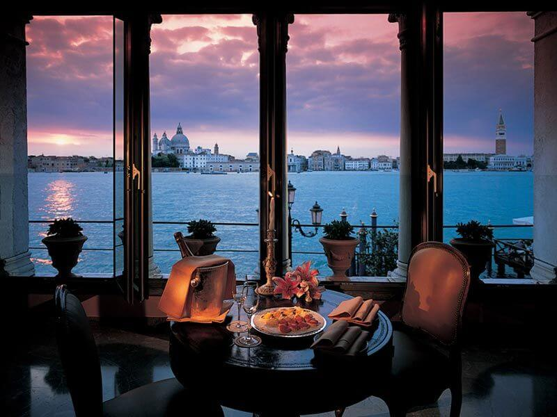 most scenic restaurants in the world, Hotel Cipriani, Venice
