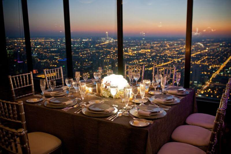best restaurant views, Chicago, USA