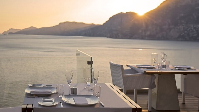 most beautiful restaurants in the world, Amalfi Coast