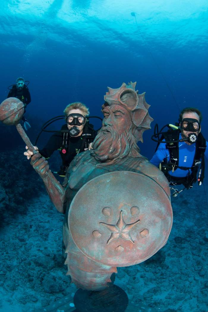 Guardian of the Reef statue