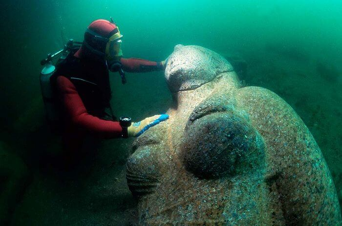 Heracleion and Canopus Statues